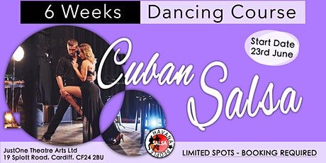 6 Week Dance Course - Cuban Salsa - Cardiff, Wales tickets