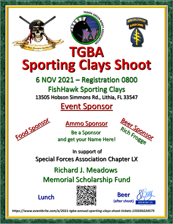 2021 TGBA Annual Sporting Clays Shoot image
