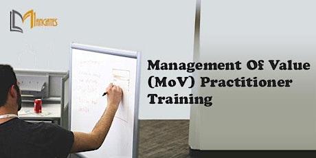 Management of Value (MoV) Practitioner Virtual Training in Merida tickets