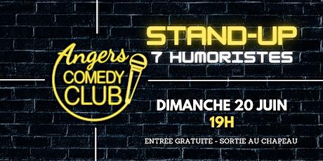 Angers Comedy Club - Dimanche  20 juin 2021 / Les Folies Angevines billets