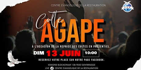 CULTE SPECIAL AGAPE tickets