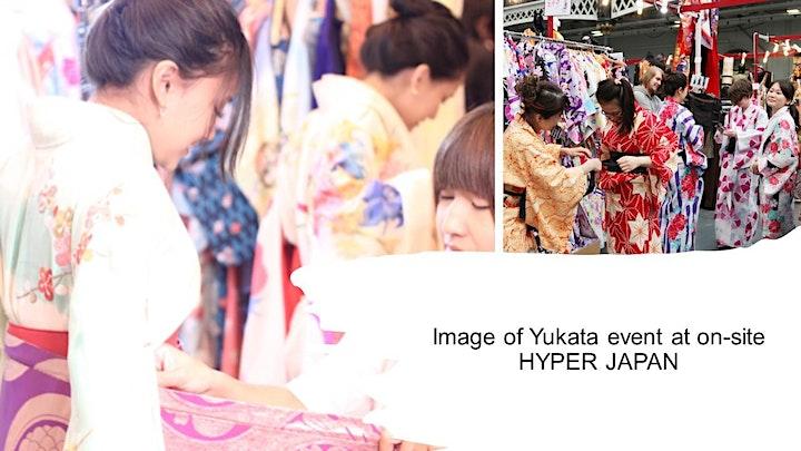 Learn to wear Kimono - Yukata (浴衣) with Yuko Boff image