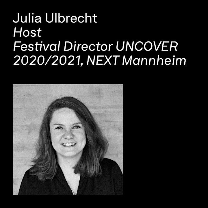 UNCOVER Opening /  Winner Announcement (Keynote: Van Bo Le-Mentzel): Bild