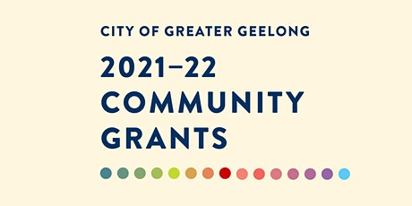 Healthy & Connected Communities Grants - Online information session tickets