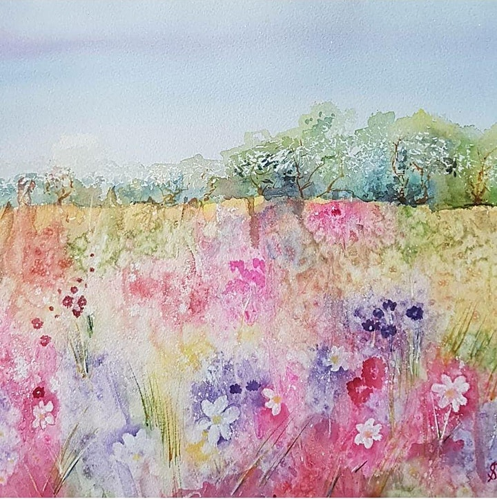 Sue Salisbury - Watercolour Mixed Media image