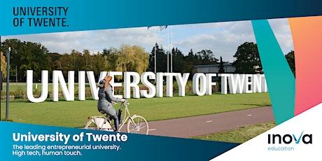 Becas para mexicanos para estudiar una maestría en la Universidad de Twente tickets
