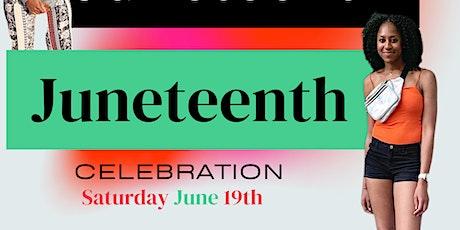 Virtual Juneteenth celebration tickets