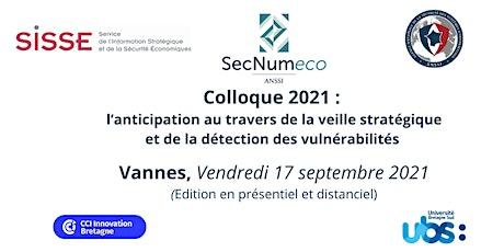 SECNUMECO 2021 billets