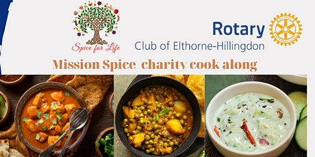 Mission Spice  Charity Cook along tickets