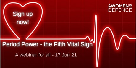 Period Power - the Fifth Vital Sign tickets