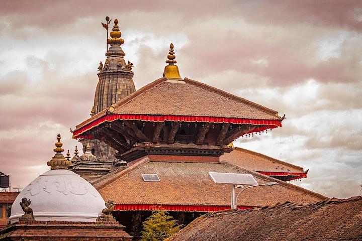 Walking around the town of Patan (Kathmandu) image