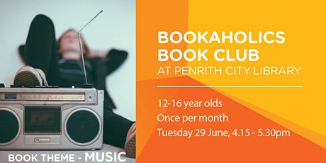 Bookaholics Book Club - Music tickets