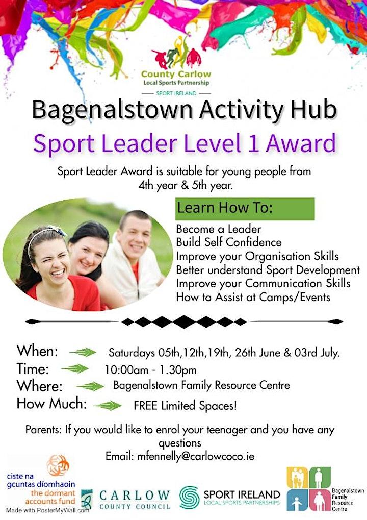Sport Leader Award  Level 1 image