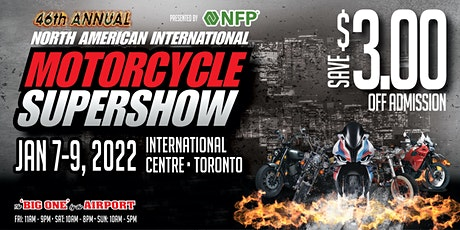 North American International Motorcycle SUPERSHOW 2022 tickets