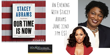 """An Evening with Stacey Abrams"""". tickets"""