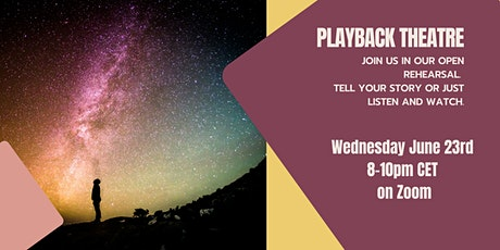 Open Rehearsal Playback Theatre (online) tickets