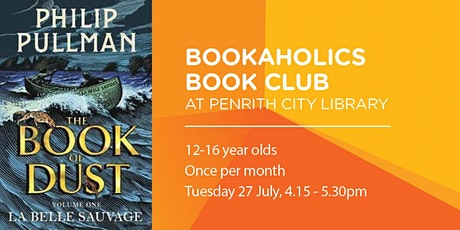 Bookaholics Book Club - The Book of Dust tickets