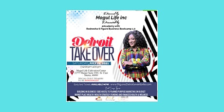 6 Figure Business Bootcamp 1.0: Detroit Takeover tickets