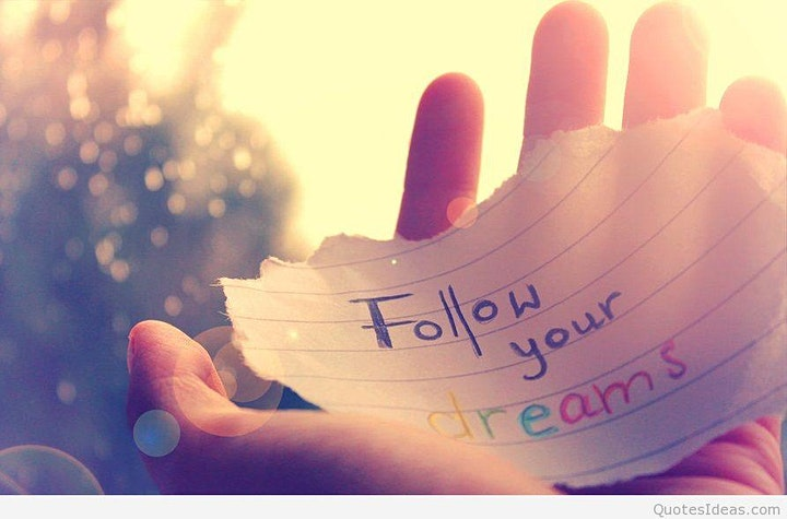 Goal Setting and Following your Dreams image