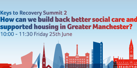 How can we build back better social care and supported housing in GM? tickets