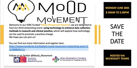 Mood Movement Networking Event 3 tickets