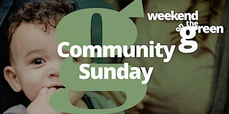 Community Sunday tickets