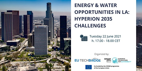 Energy & Water Opportunities in LA – Hyperion 2035 challenges tickets