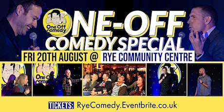 One Off Comedy Special at Rye Community Centre! - Rye tickets