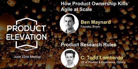 How Product Ownership Kills Agile at Scale: Ben Maynard & Product Research tickets