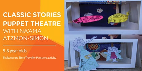 'Classic Stories' Puppet Theatre Workshop with Na'ama Atzmon-Simon tickets
