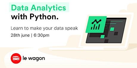 [Free workshop] Data Analytics Sprint tickets