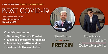 Law Practice Sales and Marketing Post COVID-19 - TWO DAY EVENT tickets