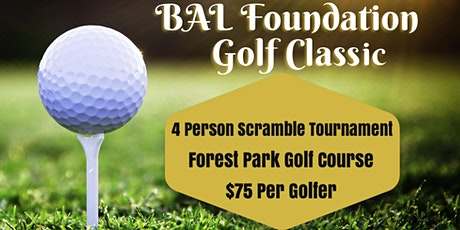 BAL Foundation Golf Classic tickets