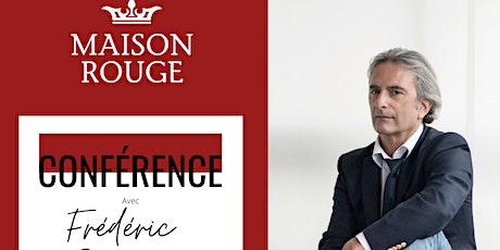 Conférence Frédéric Schiffter billets