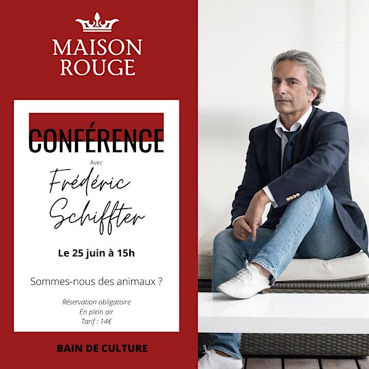 Image pour Conférence Frédéric Schiffter