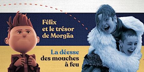 Ciné-parc   Félix et le trésor de Morgäa/La Déesse des mouches à feu billets