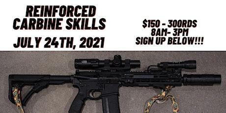 Reinforced Carbine Skills tickets