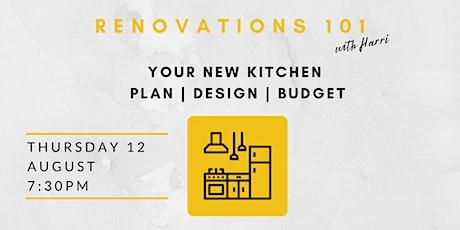 Design & Plan your New Kitchen tickets