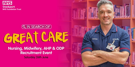 Recruitment Event for Student Nurses, RNs, Midwives, ODPs & AHPs. tickets