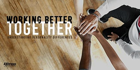 Working Better Together: Understanding Personality Differences Virtual Trng tickets