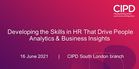 Developing the Skills in HR That Drive People Analytics & Business Insights tickets