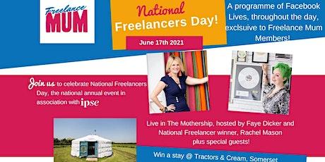 Freelance Mum, National Freelancers Day tickets