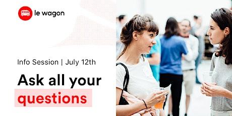 [Free workshop] Le Wagon Data Analysis Bootcamp infossession ingressos