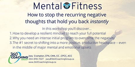 How to Stop Recurring Negative Thoughts - Instantly tickets