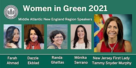 USGBC Middle Atlantic New England region presents: Women in Green 2021 tickets