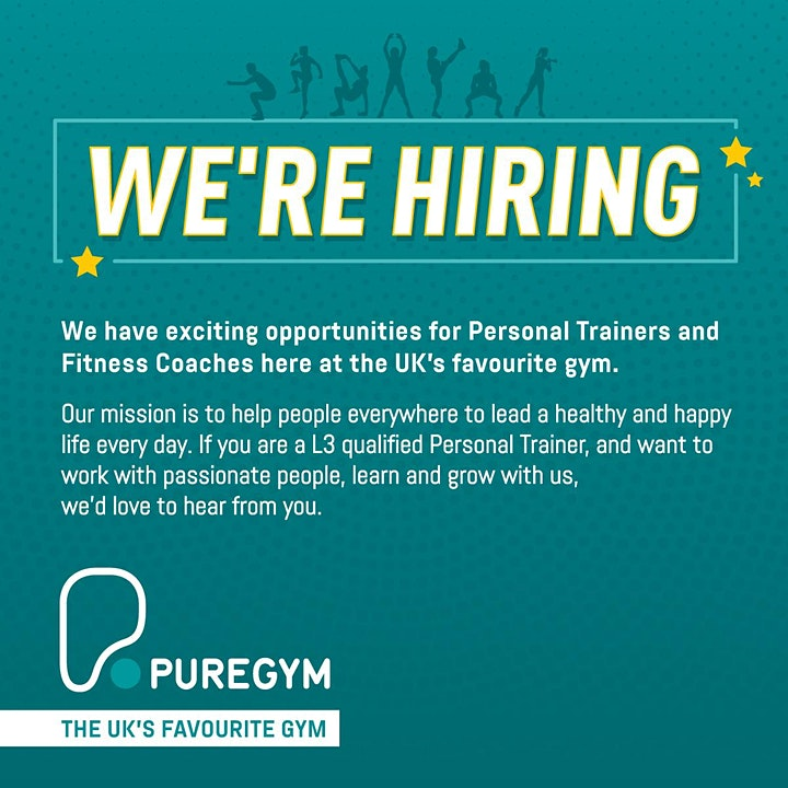 Personal Trainer/Fitness Coach Hiring Open Day - Stowmarket (New Opening) image
