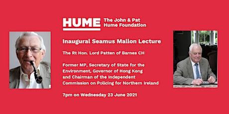 Inaugural Seamus Mallon Lecture tickets