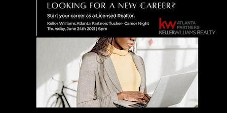 Keller Williams Career night- $100 Scholarship drawing tickets