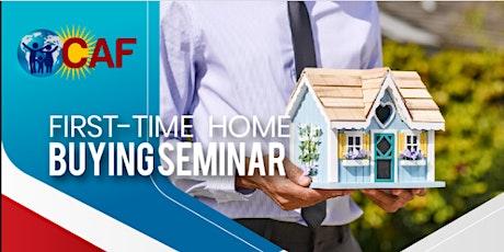 First Time Home Buying Seminar/Clase para Primeros Compradores de Vivienda boletos