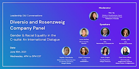 Gender & Racial Equality in the C-suite: An International Dialogue tickets